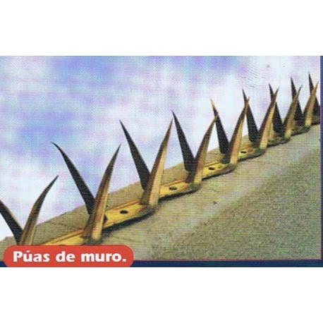 PUAS DE MURO ANTI SALTO