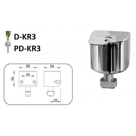 CIERRE LYF D-KR3 / PD-KR3 PARA PUERTA METÁLICA ENROLLABLE
