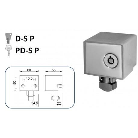 CIERRE LYF D-S P / PD-S P PARA PUERTA METÁLICA ENROLLABLE