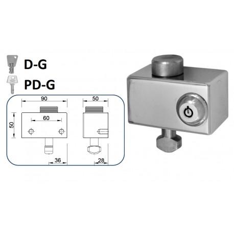 CIERRE LYF D-G / PD-G PARA PUERTA METÁLICA ENROLLABLE