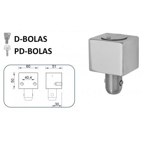CIERRE LYF D-BOLAS / PD-BOLAS PARA PUERTA METÁLICA ENROLLABLE