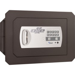 Detall caixa forta Olle 1001E (electrònica) per encastar