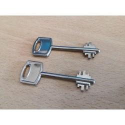 Copias de llaves Arregui de apertura (juego de 2 llaves) para cajas fuertes