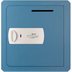 Caja fuerte Olle 803L (llave) con buzón para empotrar
