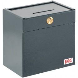 Caja fuerte FAC 6570 C con ranura para el ingreso de dinero en vehículos (coches, camiones, furgonetas etc.)