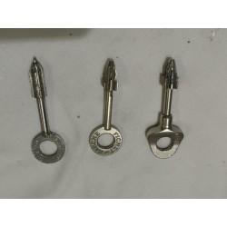 Duplicado de llave caja fuerte Fichet de 70mm M2B, M3B, MXB y Monopole