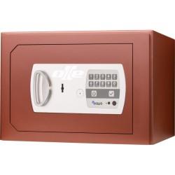 Caja fuerte con buzón Olle S601LEL (llave + electrónica) sobreponer. Ranura de ingreso en techo.