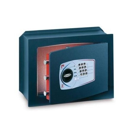 CAJA FUERTE TECHNOMAX SERIE TM. MODELOS TM0 TM1 TM2 TM3. HOMOLOGADA S1 EN 14450. MURAL. ELECTRÓNICA Y CERRADURA LLAVE EN 1300